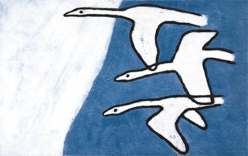 Flying - carborundum