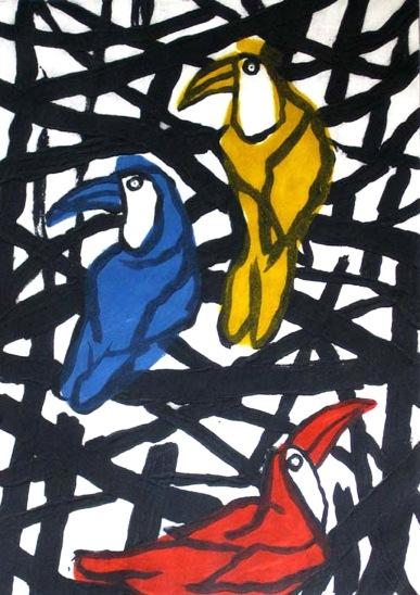 Hornbills - carborundum