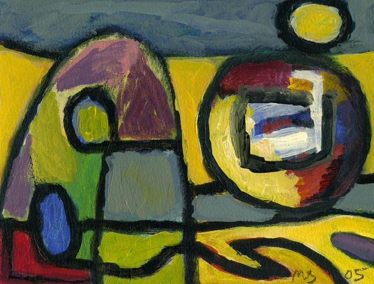 Small Abstract - acrylic