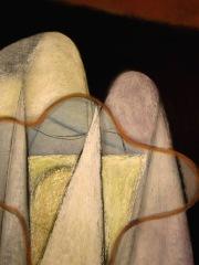 Somewhere - chalk pastel