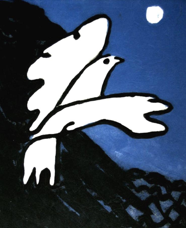 White Dove - carborundum