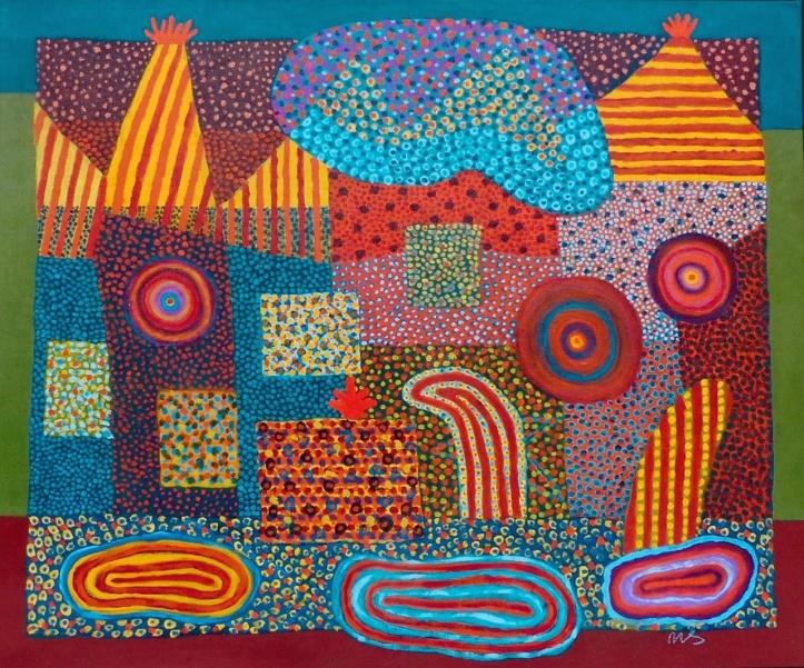 Celebration - acrylic - 50 x 60 cm