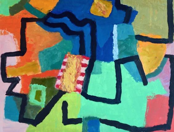 Choose Your Path - oil - 26 x 34 cm