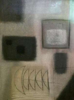 Echoes - chalk pastel - 59 x 44 cm